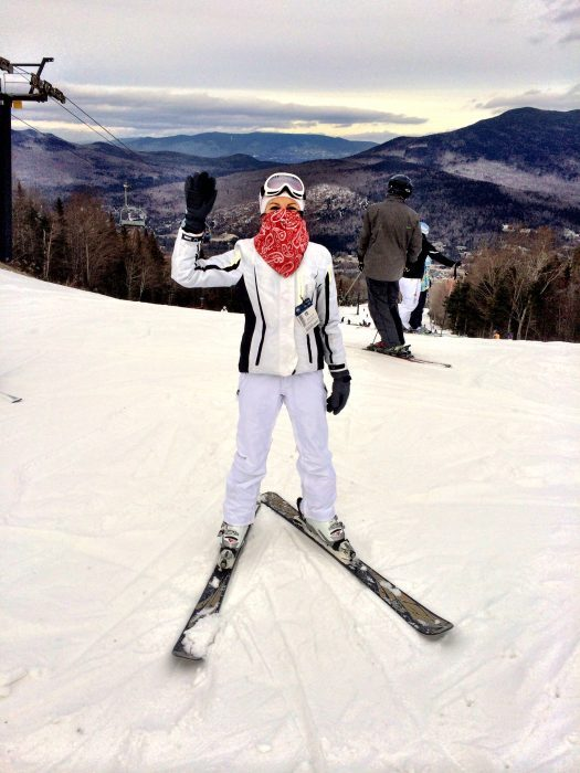 Skiing in Bretton Woods, New Hampshire